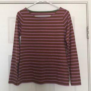 Boden women's long sleeve T-shirt sz 8